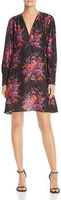 McQ Floral Silk Dress