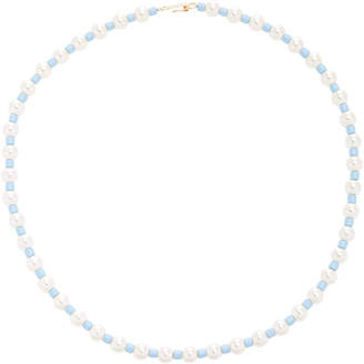 "Swarovski Roxanne Assoulin Pearl"" Bead And Gold-Tone Necklace"