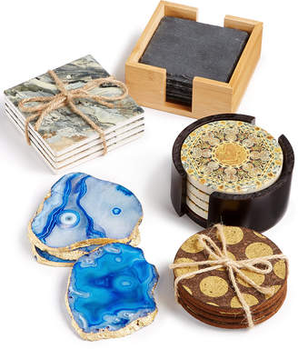 Thirstystone Mixed Material Coaster Set Collection