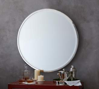 Pottery Barn Layne Round Wall Mirror
