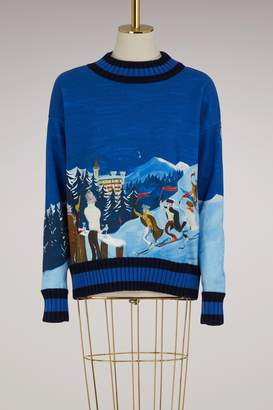 Moncler Printed sweater