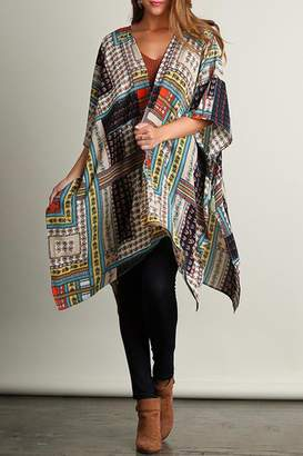 Umgee USA Multi-Patterned Kimono $35 thestylecure.com