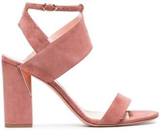 Nicholas Kirkwood Pink Eva 90 suede sandals