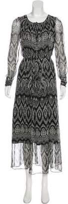 Thakoon Printed Maxi Dress