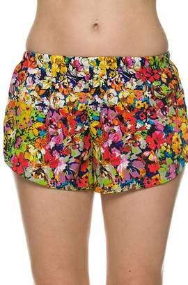 2NE1 Apparel Floral Printed Shorts
