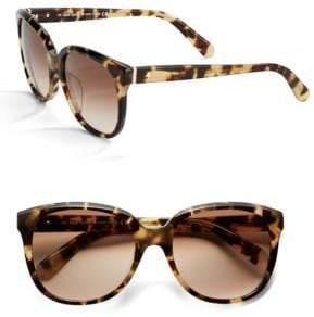 Kate Spade 55MM Bayleigh Modified Cat Eye Sunglasses