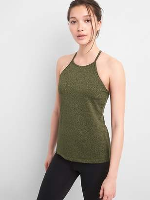 Gap GapFit High Neck Shelf Bra Tank Top