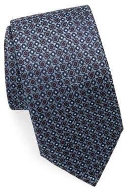 Brioni Embroidered Silk Tie