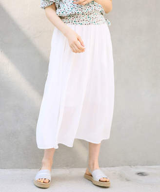 Heather (ヘザー) - 【一部カラーPRICEDOWN】シフォンプリーツロングスカート
