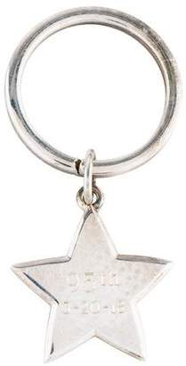 Tiffany & Co. Silver Star Keychain