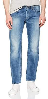 Pepe Jeans Men's Kingston Zip Straight Jeans, Blue (Denim 000-N56), W38/L30