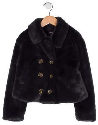 Imoga Girls' Faux Fur Jacket