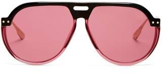 Christian Dior DiorClub3 aviator sunglasses