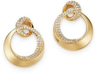 Bloomingdale's Diamond Door Knocker Earrings in 14K Yellow Gold, 0.50 ct. t.w. - 100% Exclusive
