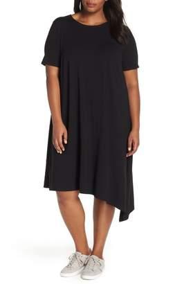 Eileen Fisher Asymmetrical Shift Dress