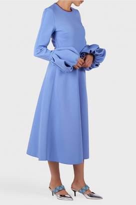 Roksanda Aylin Puff Sleeve Dress
