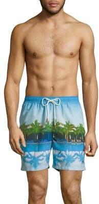 Tommy Bahama Naples High Dive Elastic Waist Swim Trunks