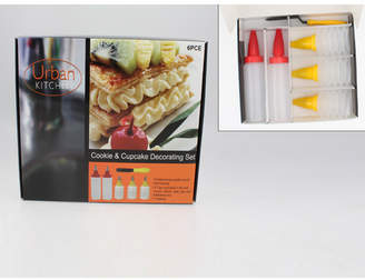 6 Piece Cookie and Cupcake Decorating Set