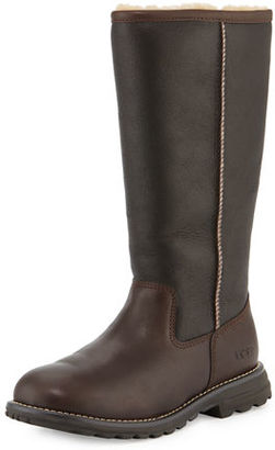 UGG Brooks Tall Sheepskin Leather Boot $275 thestylecure.com