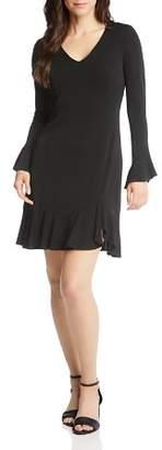 Karen Kane Sienna Flounce Dress