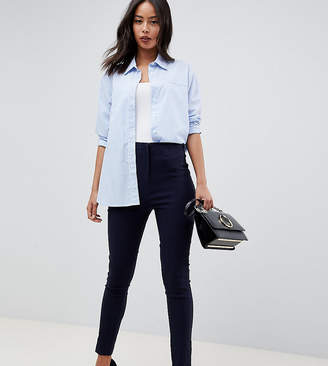 Asos Tall High Waist Pants In Skinny Fit
