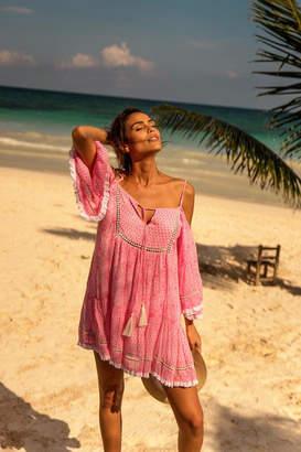 Miss June Pink Beach Dress