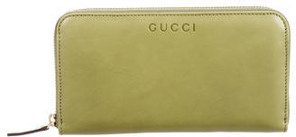 Gucci Gucci Leather Continental Wallet w/ Tags