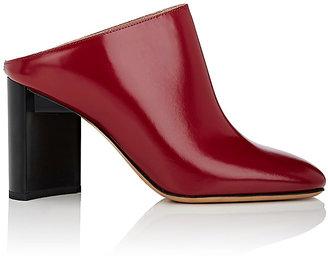 Maison Margiela Women's Asymmetric-Heel Leather Mules $890 thestylecure.com