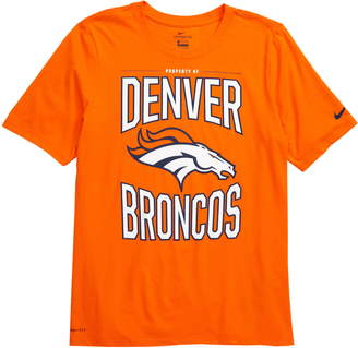 Nike NFL Logo Property of Denver Broncos Dri-FIT T-Shirt