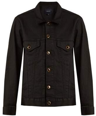 Khaite - Cate Oversized Denim Jacket - Womens - Black