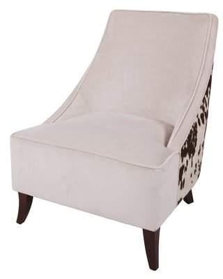 Loon Peak Westfir Cowhide Slipper Chair