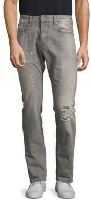 Scotch & Soda Ralston Distressed Cotton Jeans