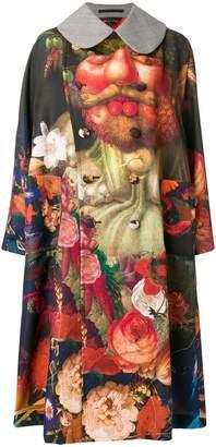 Comme des Garcons still nature print coat