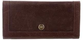 Anya Hindmarch Leather Flap Wallet