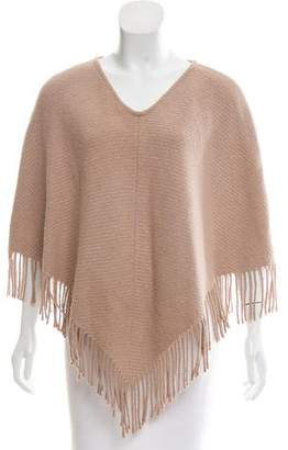 Burberry Cashmere & Wool Poncho