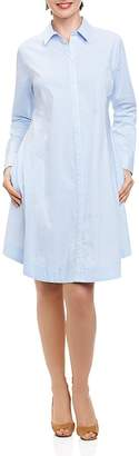 Foxcroft Striped Shirt Dress