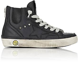 Golden Goose High-Top Sneakers $228 thestylecure.com
