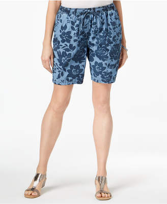 Karen Scott Print Shorts, Created for Macy's