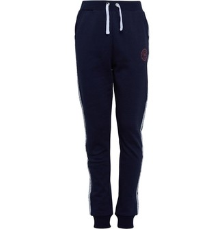Board Angels Girls Fleece Jog Pants Navy