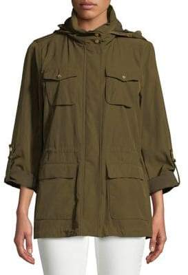 Vince Camuto Classic High Neck Anorak