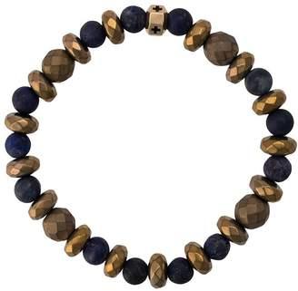 Luis Morais enameled cross octagon bracelet