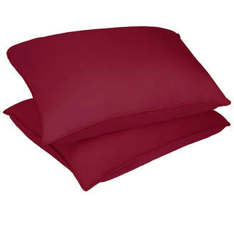 Asstd National Brand Stayclean Polyester Microfiber Stain and Water Resistant Bed Pillow 2 Pack