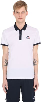 Luto Nylon Tennis Polo Shirt $82 thestylecure.com