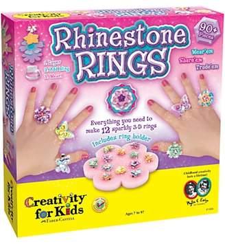 Creativity For Kids West Designs Rhinestone Rings Set