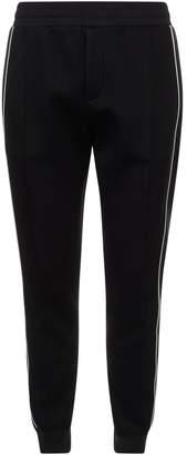 Alexander McQueen Satin Side Stripe Sweatpants