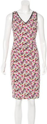 Nicole Miller Printed Sleeveless Dress $70 thestylecure.com