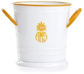 Mark And Graham Enamel Ice Bucket, Yellow