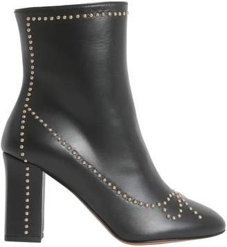 Moschino Studded Ankle Boots