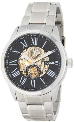 Fossil Men's Flynn Mechanical Bracelet Watch, 48mm
