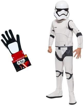 Star Wars Wonder Clothing Big Boys' the Force Awakens Stormtrooper Costume and Gloves Set